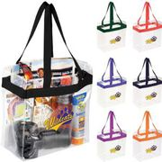 Game Day Clear Stadium Tote Bags at Vivid Promotions Australia