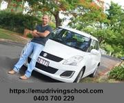 emu driving school services