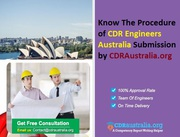 Procedure of CDR Engineers Australia Submission by CDRAustraliaorg